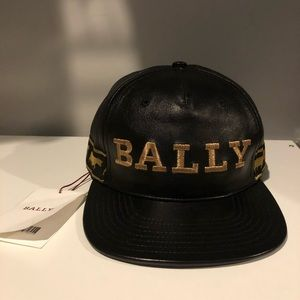 Bally Leather Hat